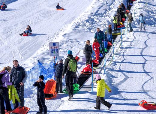 Laufband für Skilifte