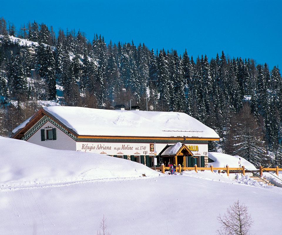 rifugio adriana moline inverno