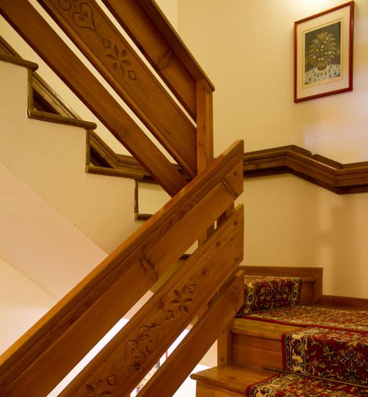 scale verso le camere
