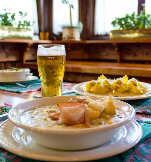 zuppa rifugio campomulo