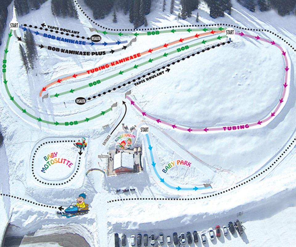 piste snow park