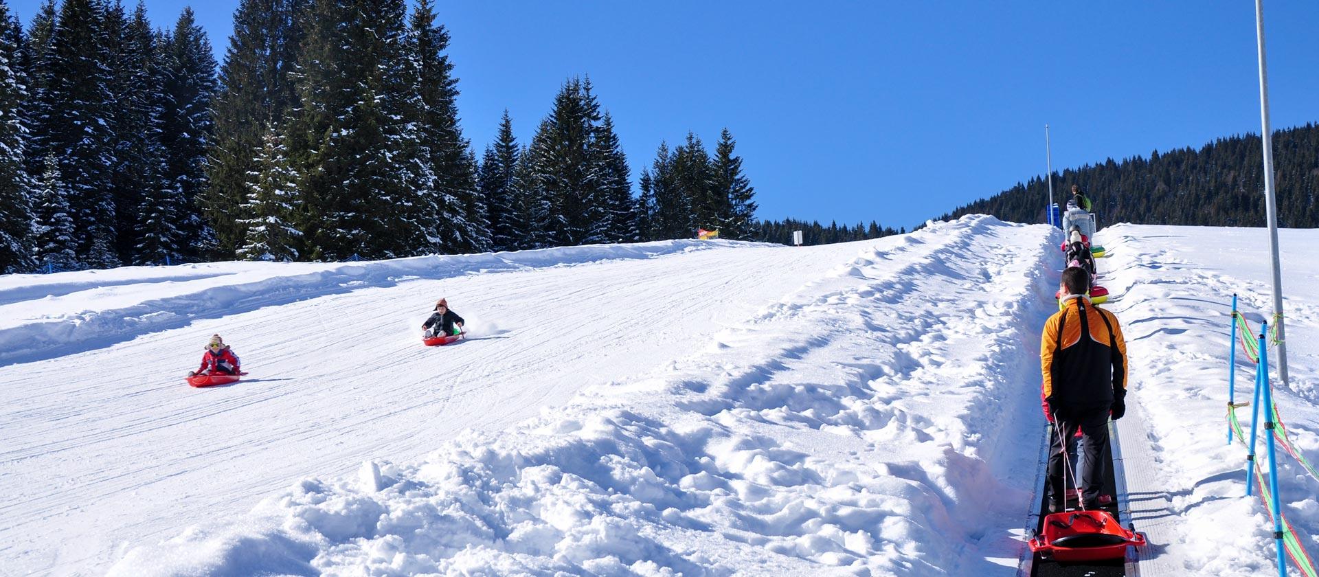 snow fun park piste